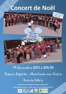AOCME Affiche concert
